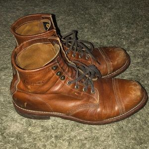 Men's handcrafted Chippewa boots